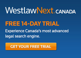 WestlawNext Canada Free 14-Day Trial