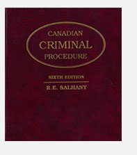 Canadian Criminal Procedure