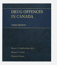 Drug Offences in Canada