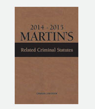 Martin's Related Criminal Statutes