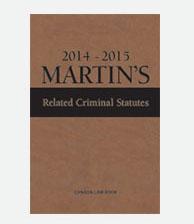 Martin's Related Criminal Statutes