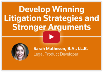 Video - Your fastest way to get up to speed on any legal issue