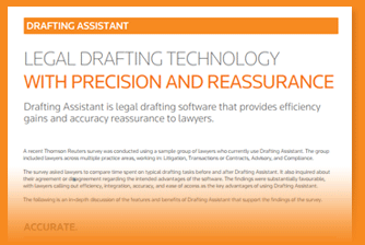 Download the Drafting Assistant brochure.