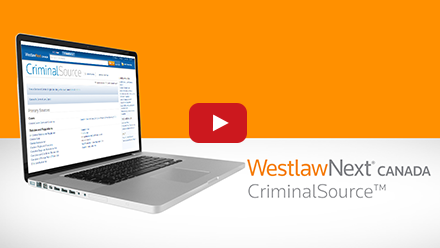 CriminalSource is Canada's largest collection of case law