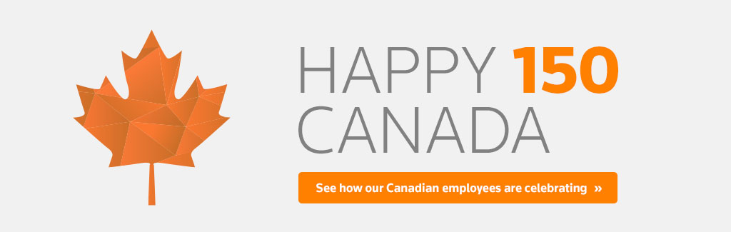 Happy 150 Canada: See how our Canadian employees are celebrating