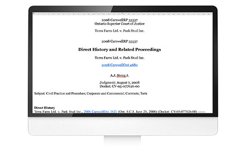 Introducing Related Proceedings