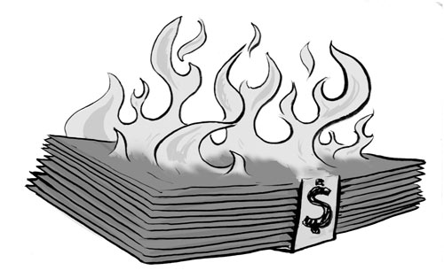 Legal Wit — The Smell of Burning Money
