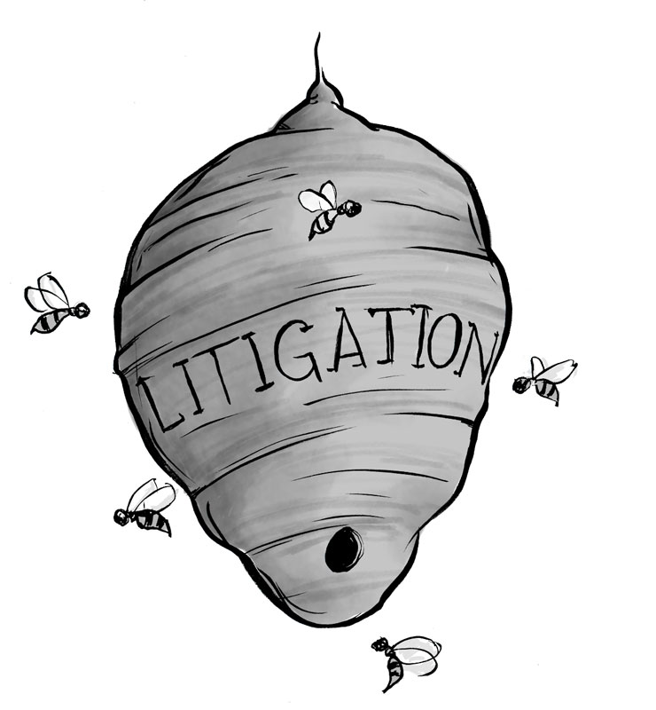 Legal Wit — A Hornet's Nest