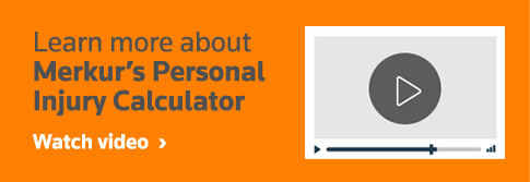 Learn more about Murkur's Personal Injury Calculator. Watch video.